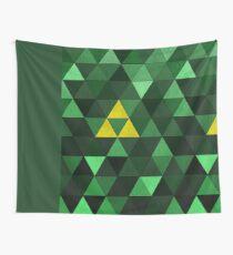 Triforce Quest (Grün) Wandbehang