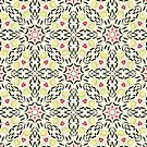 Willow Sketch Geometric Pattern by Nic Squirrell