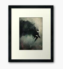 Caped Crusader... Framed Print