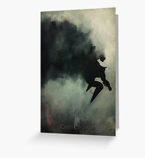 Caped Crusader... Greeting Card