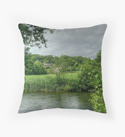 Tales Of The Riverbank Throw Pillow