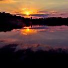 When sun is doing down by LudaNayvelt