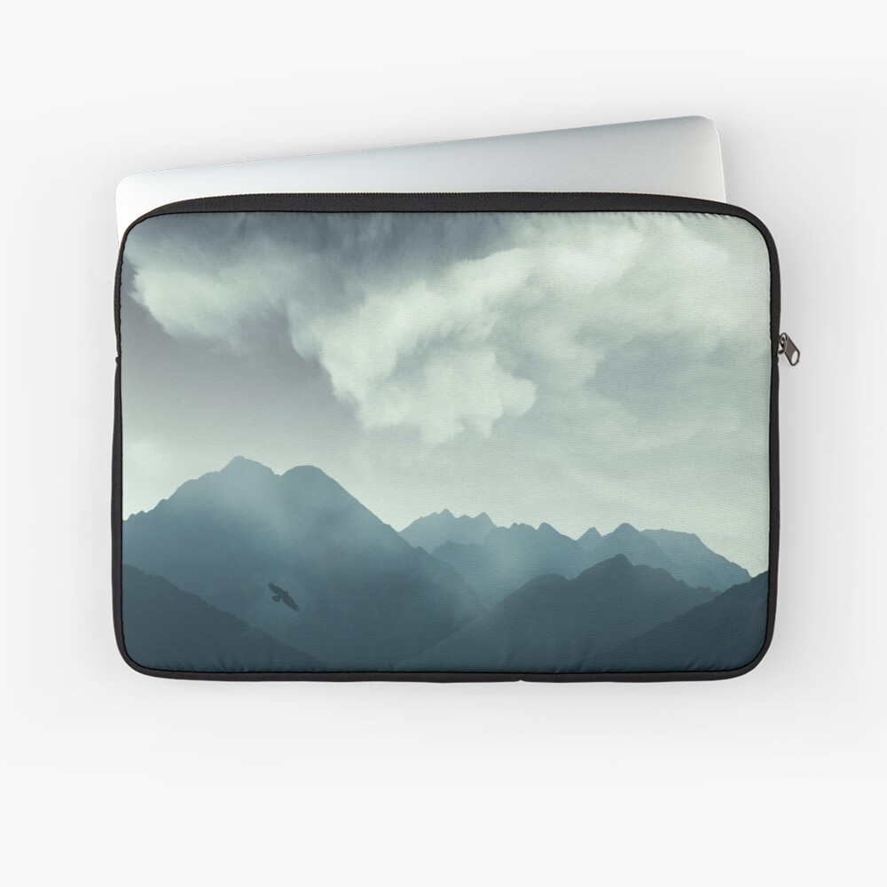 Mountain Shapes Laptop Sleeve