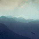 Mountain Haze - San Gottardo Switzerland by Dirk Wuestenhagen