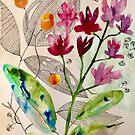 «composición botánica» de Marianna Tankelevich