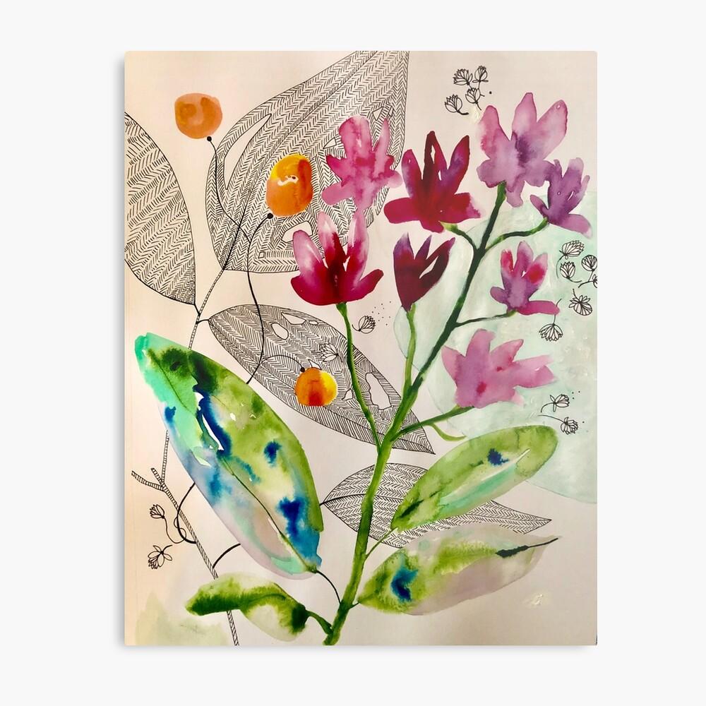 botanical composition Metal Print