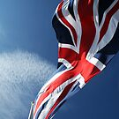 Union Flag At The Top Of Elizabeth Castle, St Helier, Jersey by Look-Its-Darren