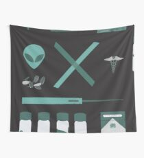 X-Files  Wall Tapestry
