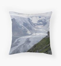 Glacier Grossglockner Austria Throw Pillow