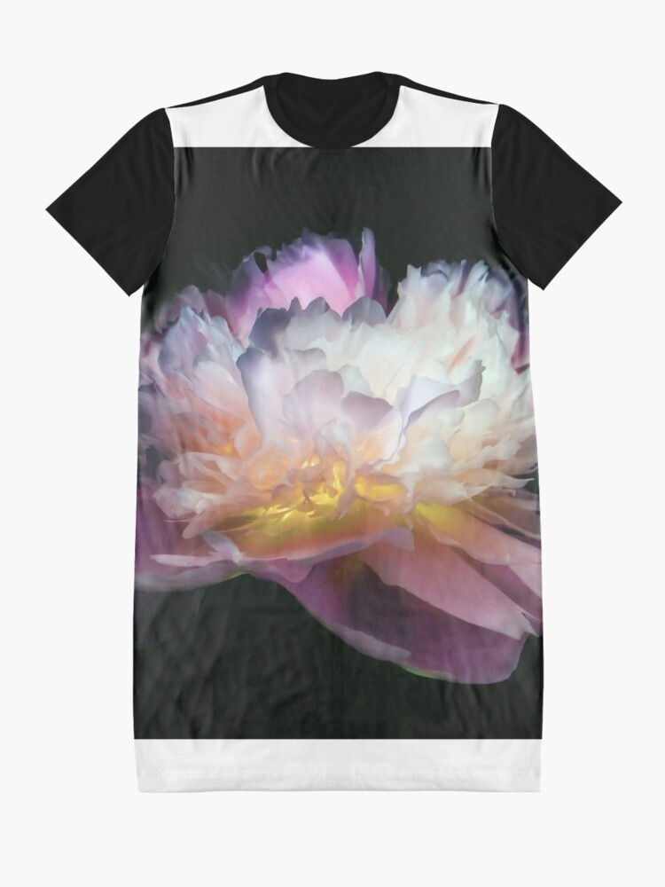 Robe t-shirt ''Inverted peony' : autre vue