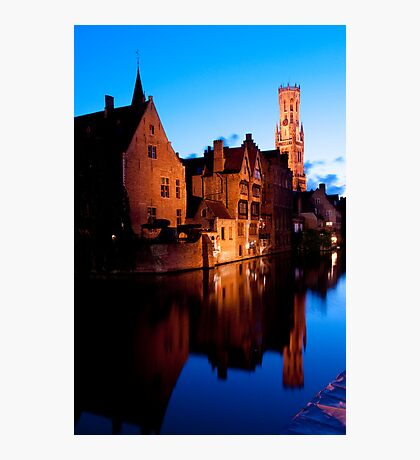 Medieval Bruges Photographic Print
