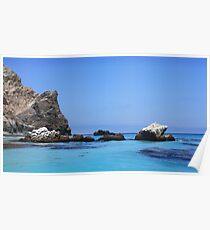 Seal Rocks-Catalina Island-California-USA Poster