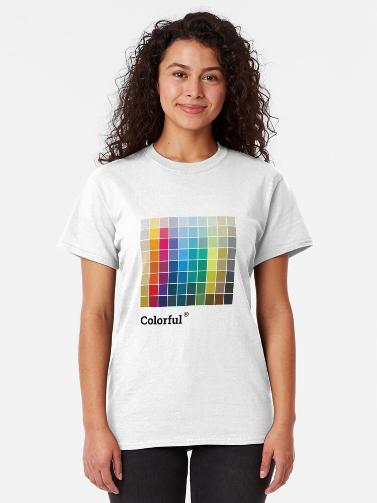 Alternate view of Colorful Soul - All colors together Classic T-Shirt
