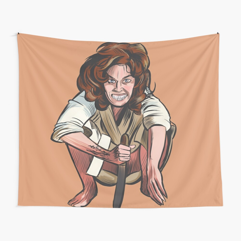 Trilogy Of Terror Wall Tapestry