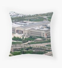 Field Museum in Chicago Illinois  Throw Pillow