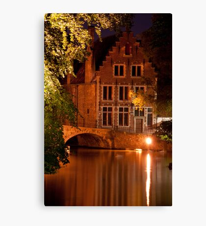Historic Bruges Canvas Print