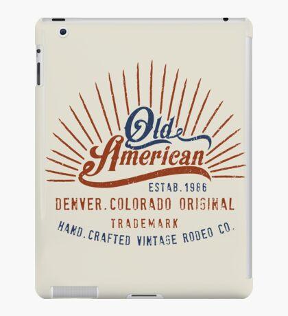 Denver Colorado Old American iPad Case/Skin