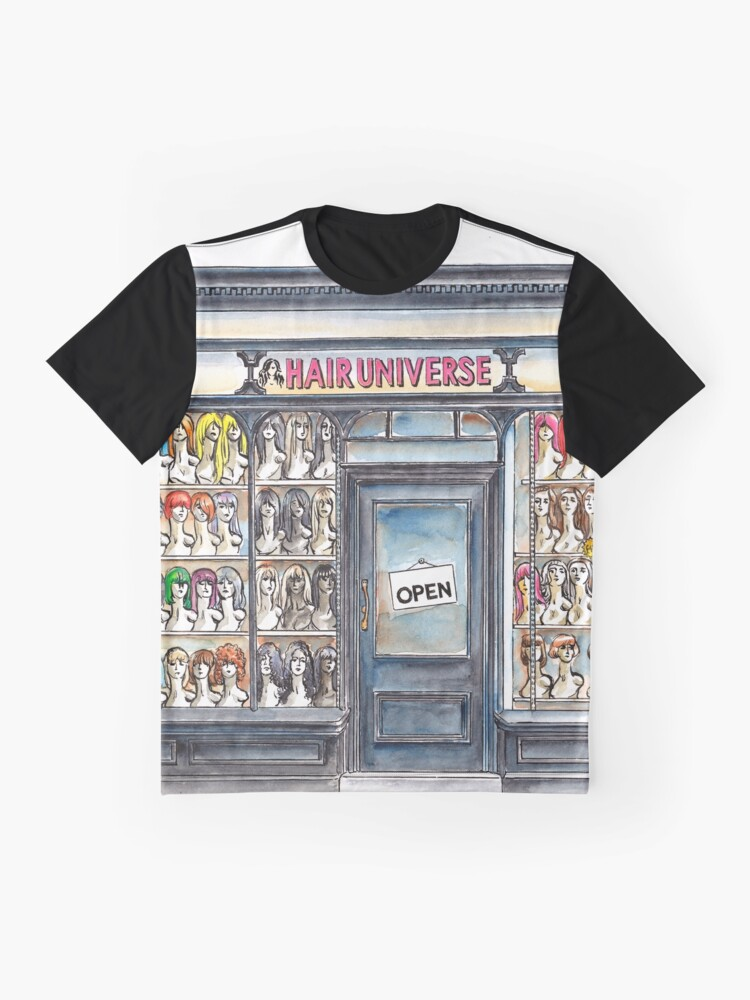 Alternate view of Hair Universe 2 Graphic T-Shirt