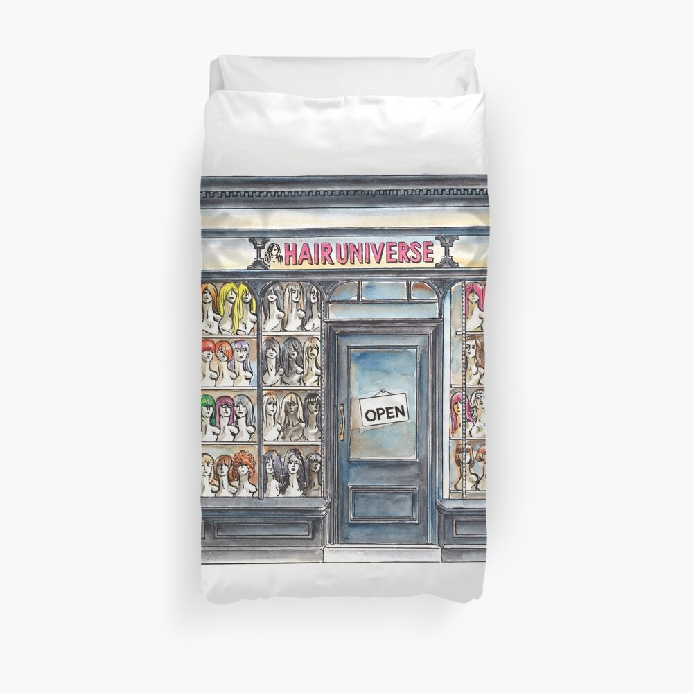 Hair Universe 2 Duvet Cover