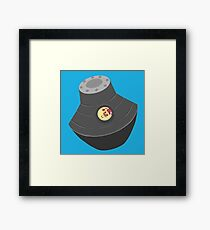 Space pod Framed Print