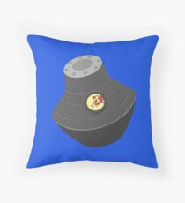 Space pod Throw Pillow