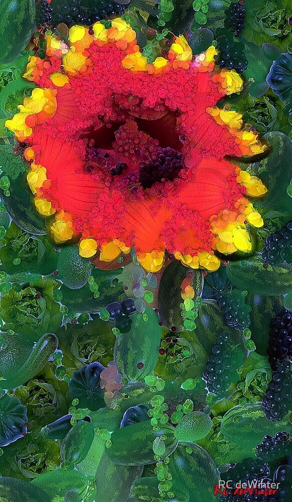 Fruit Salad Flower by RC deWinter