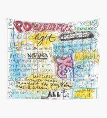 """Tela decorativa Cita de Marianne Williamson - """"Nuestro miedo más profundo no es que somos inadecuados"""""""