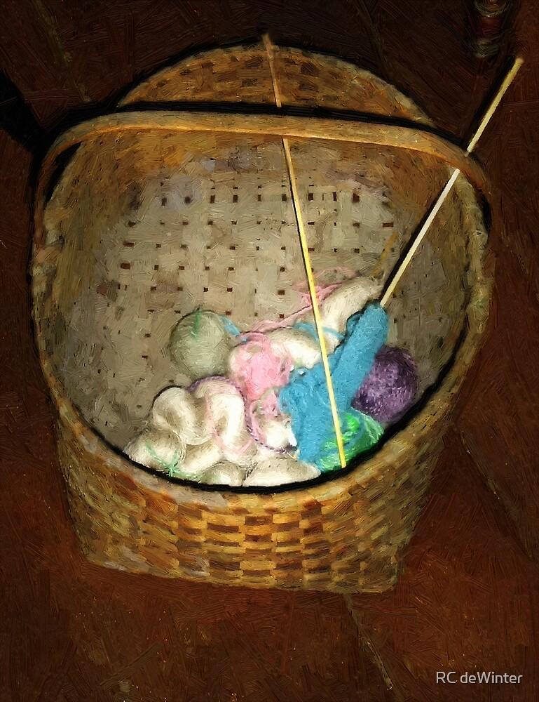 Old Basket, New Yarn by RC deWinter