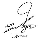«Autografia de parque jimin» de Elisa88