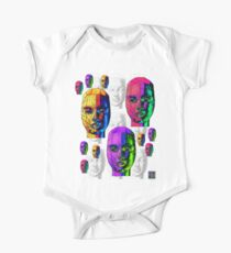 """""""Female Wireframe Heads""""© Kids Clothes"""
