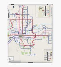 Vereinigte Staaten von Amerika - Spokane - System Map - HD iPad-Hülle & Klebefolie
