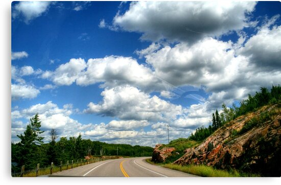 Scenic Drive to the USA by Larry Trupp