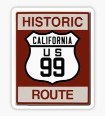 California Highway 99 Sticker