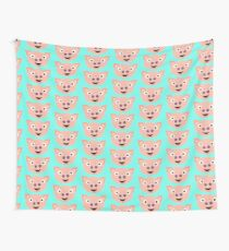 Piggy Face Wall Tapestry