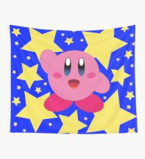 Kirby in the stars Wandbehang