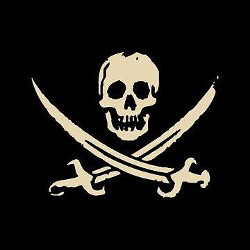 Piratenflagge von cpinteractive