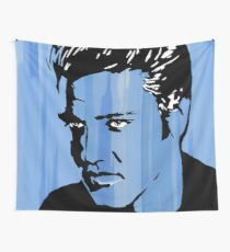 Blue Suede Shoes Wall Tapestry