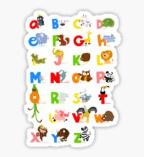 ABC (english) Sticker
