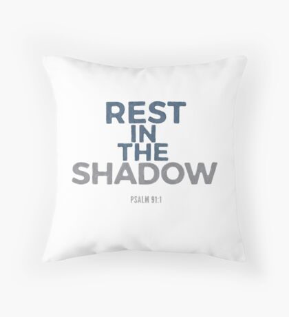 Rest in the shadow - Psalm 91:1 Floor Pillow
