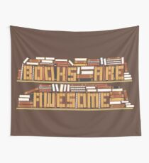 Book Are Awesome Wall Tapestry