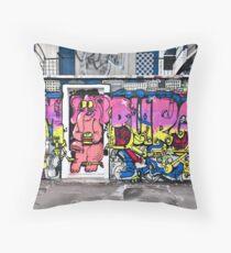 Street Art IV Throw Pillow