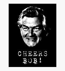 Cheers Bob Hawke Photographic Print