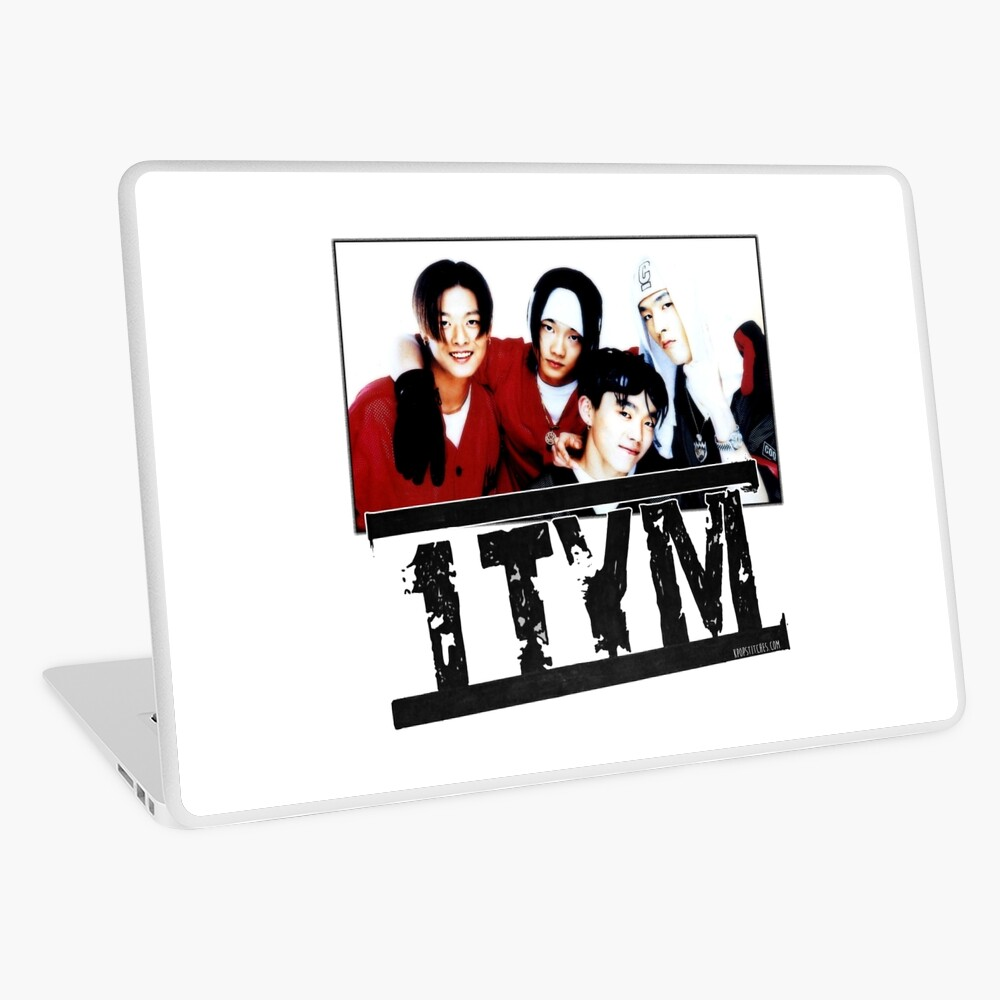 1tym smiles 원타임 90s kpop Laptop Skin