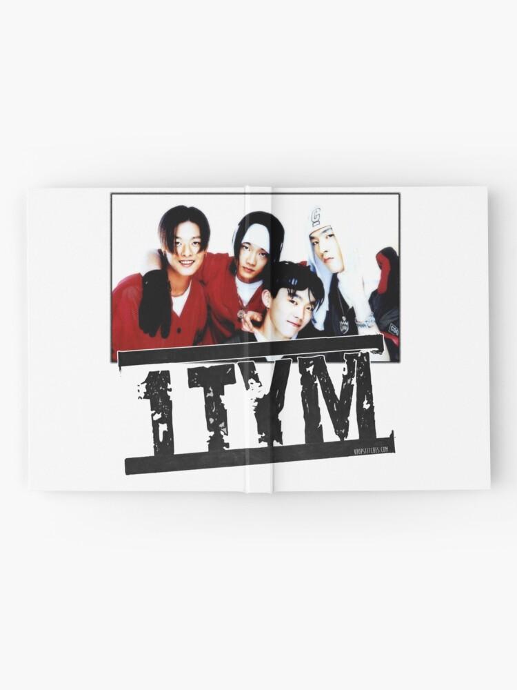 Alternate view of 1tym smiles 원타임 90s kpop Hardcover Journal