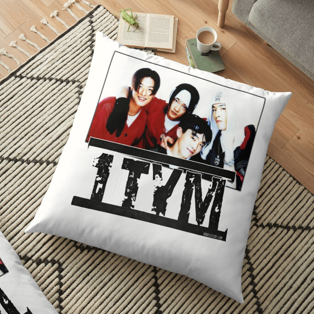 1tym smiles 원타임 90s kpop Floor Pillow