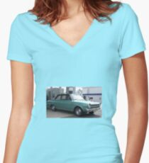 Rambler Cars Women's Fitted V-Neck T-Shirt