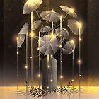 Regen Blume  von schwebewesen