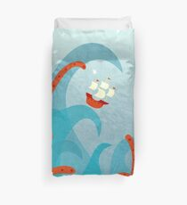 A Bad Day For Sailors Duvet Cover