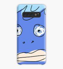 Blue monsta Case/Skin for Samsung Galaxy