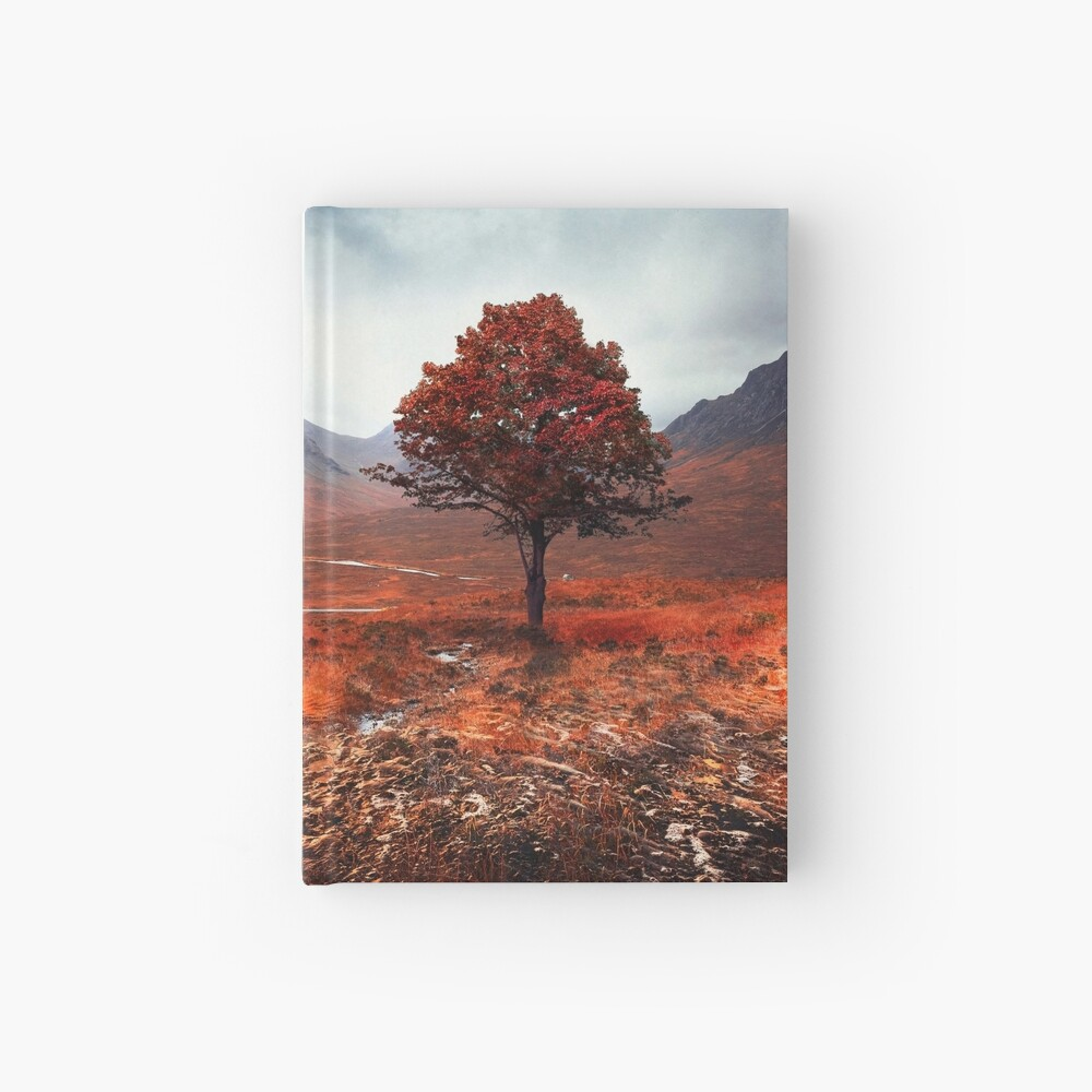 Moody Days Hardcover Journal